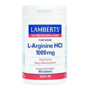 Lamberts L-Arginine HCl 1000mg 90 tabletten