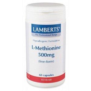 Lamberts L-Methionine 500 mg 60 capsules
