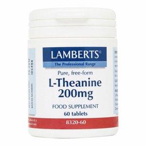 Lamberts L-Theanine 200 mg 60 tabletten