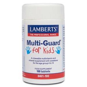 Lamberts Multi Guard for Kids 100 kauwtabletten