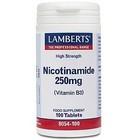 Lamberts Nicotinamide 250 mg 100 tab