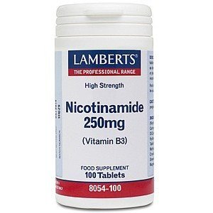Lamberts Nicotinamide 250 mg 100 tabletten