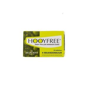 Jacob Hooy Hooyfree 4 Maanden Kuur 50 tabletten