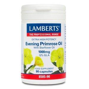 Lamberts Teunisbloemolie (Evening Primrose) 1000 mg 90 capsules