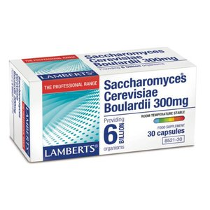 Lamberts Saccharomyces Cerevisiae Boulardii 300 mg 30 capsules