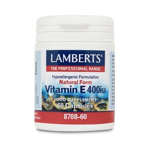 Lamberts Natural Form Vitamine E 400 ie 60 capsules