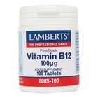 Lamberts Vitamin B12 100 mcg 100 tab
