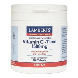 Lamberts Vitamine C 1500 TR & bioflavonoiden 120 tabletten