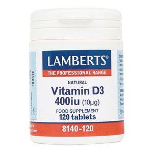 Lamberts Vitamine D3 400 ie 120 tabletten