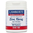 Lamberts Zinc 15mg 180 tab