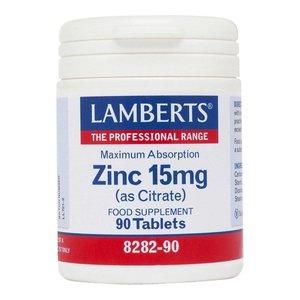 Lamberts Zinc Citrate 15 mg 90 tabletten