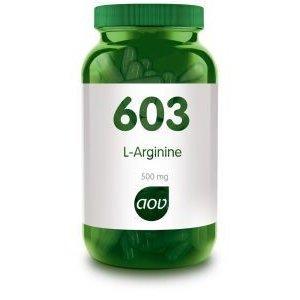 AOV 603 L-Arginine 500 mg 90 capsules