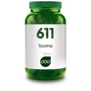 AOV 611 Taurine 500 mg 60 capsules