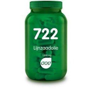 AOV 722 Lijnzaadolie 1000 mg 90 capsules
