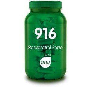 AOV 916 Resveratrol Forte 60 mg 60 capsules