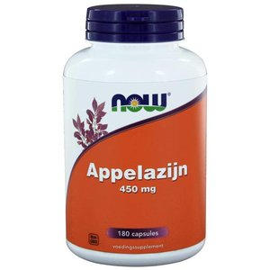 NOW Appelazijn 450 mg 180 capsules