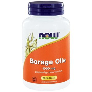 NOW Borage Olie 1000 mg 60 softgels
