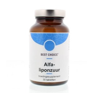 Best Choice Alfa Liponzuur 200 30 tabletten