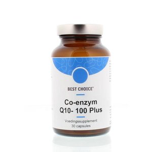 Best Choice Co-enzym Q10- 100 Plus 30 capsules