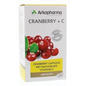 Arkocaps Cranberry + C 150 cap