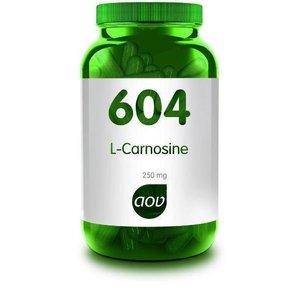 AOV 604 L-Carnosine 250 mg 60 capsules