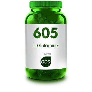 AOV 605 L-Glutamine 500 mg 90 capsules