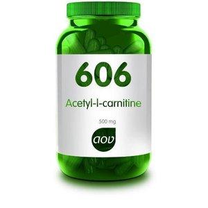 AOV 606 Acetyl-L-Carnitine 500 mg 90 capsules