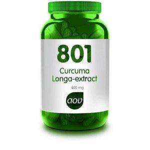 AOV 801 Curcuma Longa-Extract 600 mg 60 capsules
