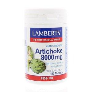 Lamberts Artichoke 8000 mg 180 tabletten