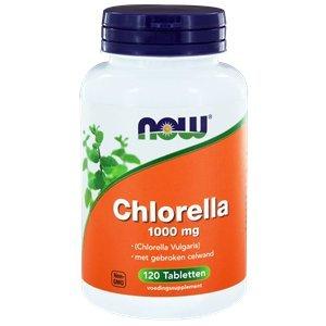 NOW Chlorella 1000 mg 120 tabletten