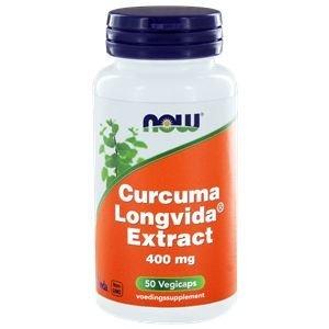 NOW Curcuma Longvida® Extract 50 capsules