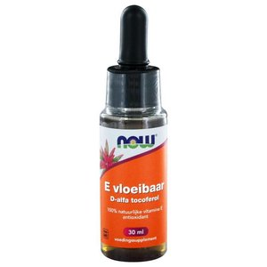 NOW Vitamine E Vloeibaar 30 ml
