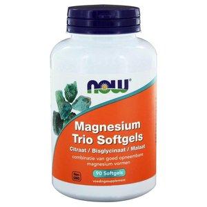 NOW Magnesium Trio Softgels 90 capsules