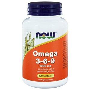 NOW Omega 3-6-9 1000 mg 100 softgels