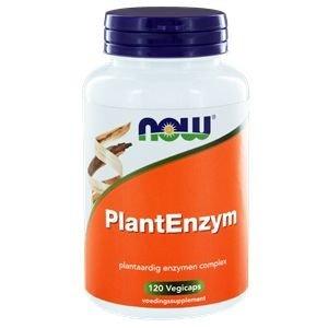 NOW Plantenzym 120 v-caps