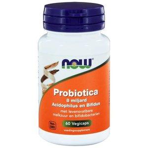 NOW Probiotica 8 Billion acidophilus 60 capsules