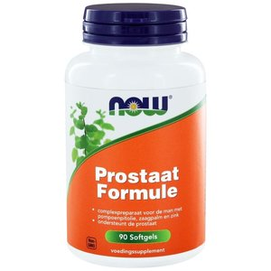 NOW Prostaat* formule / Saw palmetto 90 softgels