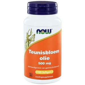 NOW Teunisbloemolie / Evening primrose oil 500 mg 100 softgels