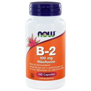 NOW Vitamine -2 100 mg 100 capsules
