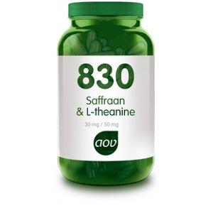 AOV 830 Saffraan & L-Theanine 30 capsules