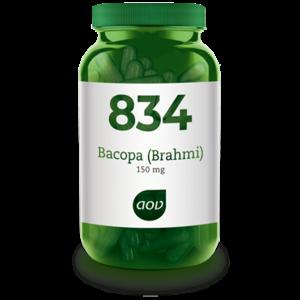 AOV 834 Bacopa (brahmi) 150 mg 60 capsules