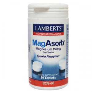 Lamberts MagAsorb 60 tabletten