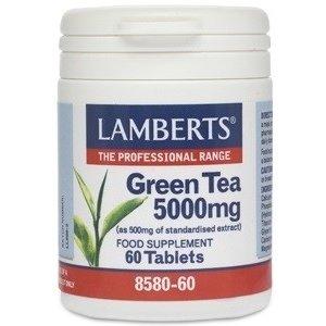 Lamberts Green Tea / Groene Thee 60 tabletten