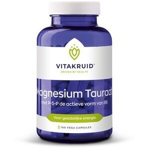 Vitakruid Magnesium tauraat met P-5-P 150 caps