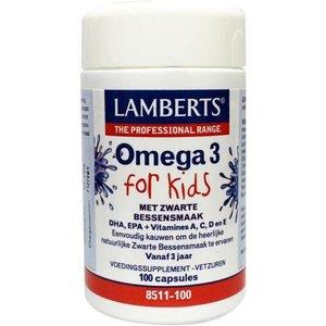 Lamberts Omega 3 for Kids 100 kauwcapsules