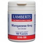 Lamberts Manganese 4mg 100 tab