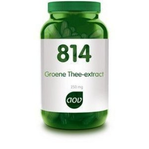 AOV 814 Groene Thee-Extract 250 mg 60 capsules