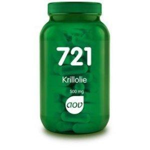 AOV 721 Krillolie 500 mg 60 capsules
