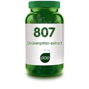 AOV 807 Druivenpitten-Extract 60 capsules
