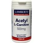 Lamberts Acetyl L-Carnitine 60 cap